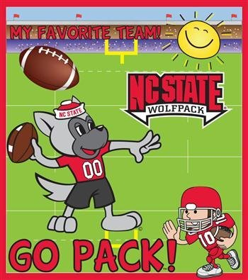 North Carolina State Wolfpack 24 Piece Youth Puzzle (Nc State Wolfpack Puzzle)