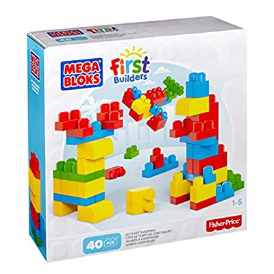 Mega Bloks Let's Start Building 40 pieces: Toys & Games