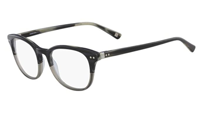 Eyeglasses MARCHON M-NYU 035 GREY HORN at Amazon Men\'s Clothing store: