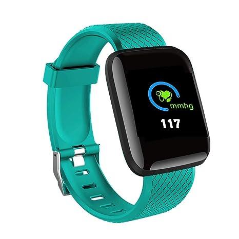 Amazon.com: Smart Watch inteligente pulsera D13 tiempo real ...