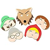 Teaching Resource Sack - Red Riding Hood Story Play Mask Set