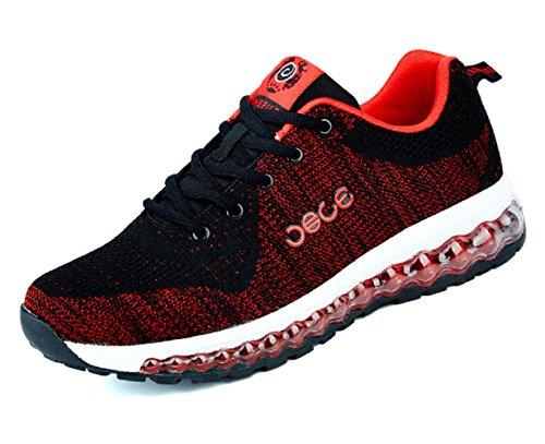 Red D Sneakers Sport 5 Lightweight Air 9 US Mens M Leisure Walking Shoes Tennis Running Cushion Casual TAwgFxAf