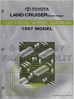 electrical wiring diagram for a 1997 toyota land cruiser station  wagon(fzj80 series): toyota motor corporation: amazon com: books