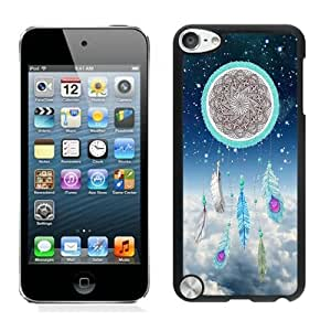Romantic Design Ipod 5 Cases for Girls Dream Catcher Nebula Black Ipod 5th Generations Protective Cover for Boys