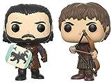 Funko Pop Game of Thrones Jon Snow & Ramsay Bolton Battle of the Bastards Collectible Figure