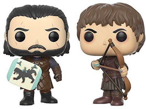 Price comparison product image Funko Pop Game of Thrones Jon Snow & Ramsay Bolton Battle of the Bastards Collectible Figure