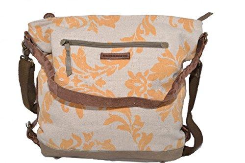 Desiderius DFSS170383 Niniel /marcelina /Gelb Olive Cityshopper Handtasche/Beuteltasche