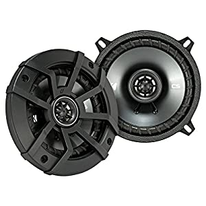 "2 Pair Car Speaker Package Of 2x Kicker CSC54 450-Watt 5-1/4"" Inch 2-Way Black Coaxial Speakers + 2x CSC6934 900W 6x9"" CS Series 3-Way Speakers - Bundle Combo With Enrock 50 Foot 14 Gauge Speaker Wire"