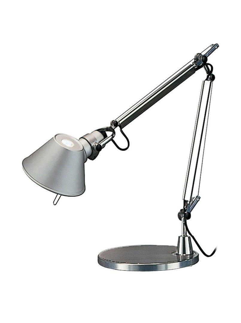 Lampada da tavolo Tolomeo micro Halo Colore Rosso Artemide A011810