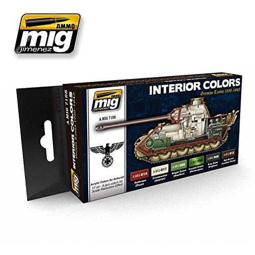 ammo-of-mig-interior-colors-german-tanks-acrylic-colors-set-6-jars-17ml-7108