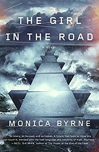 book cover of The Girl in the Road