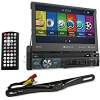 Soundstream VRN-74HB 7 Navigation DVD Player w/Bluetooth, MobileLink8.2+Camera