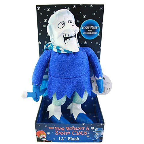Without Santa Claus Miser Plush