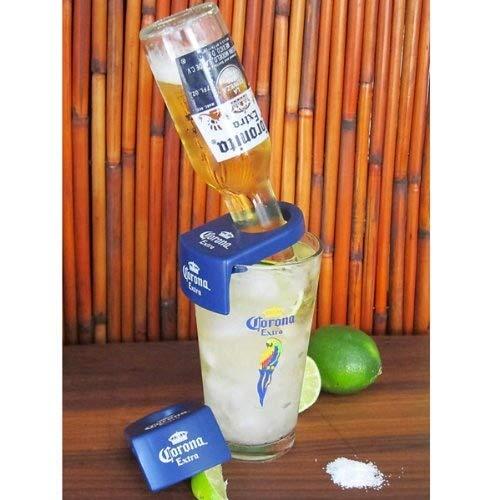 (CoronaRitaDrink Clips- For Schooner & Goblet Glasses - Pack of 6)