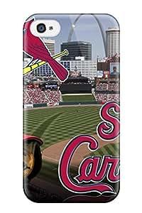 Cute Tpu DanRobertse St_ Louis Cardinals Case Cover For Iphone 4/4s