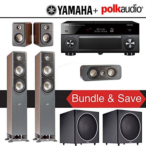 Yamaha RX-A2060BL AVENTAGE 9 2-Channel Network A/V Receiver + Polk