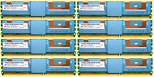Pc2 5300f Ecc Registered - HP 64GB (8 X 8GB) Kit 8GB 2RX4 PC2-5300F DDR2-667 ECC Registered Memory Module For DL360 DL380 DL580 G5