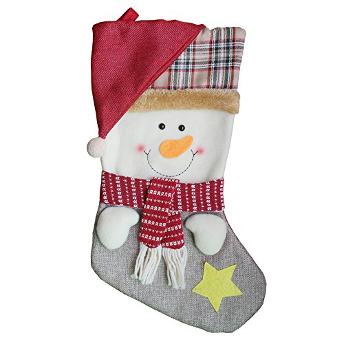 AnciTac Christmas Stockings Hanging Set 17'' Large Bags, Bulk Stocking Kit for Xmas Tree or Fireplace Decoration(Type A) by AnciTac (Image #7)