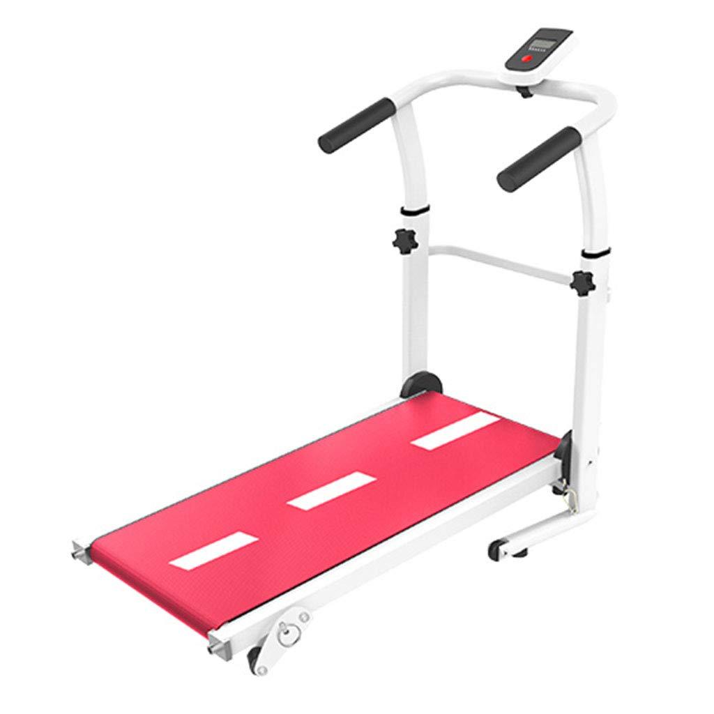Laufbänder Falten Mechanische Multi-Funktions-Gewichtsverlust Aerobic Walking (Farbe   ROT, Größe   115  45  110cm)