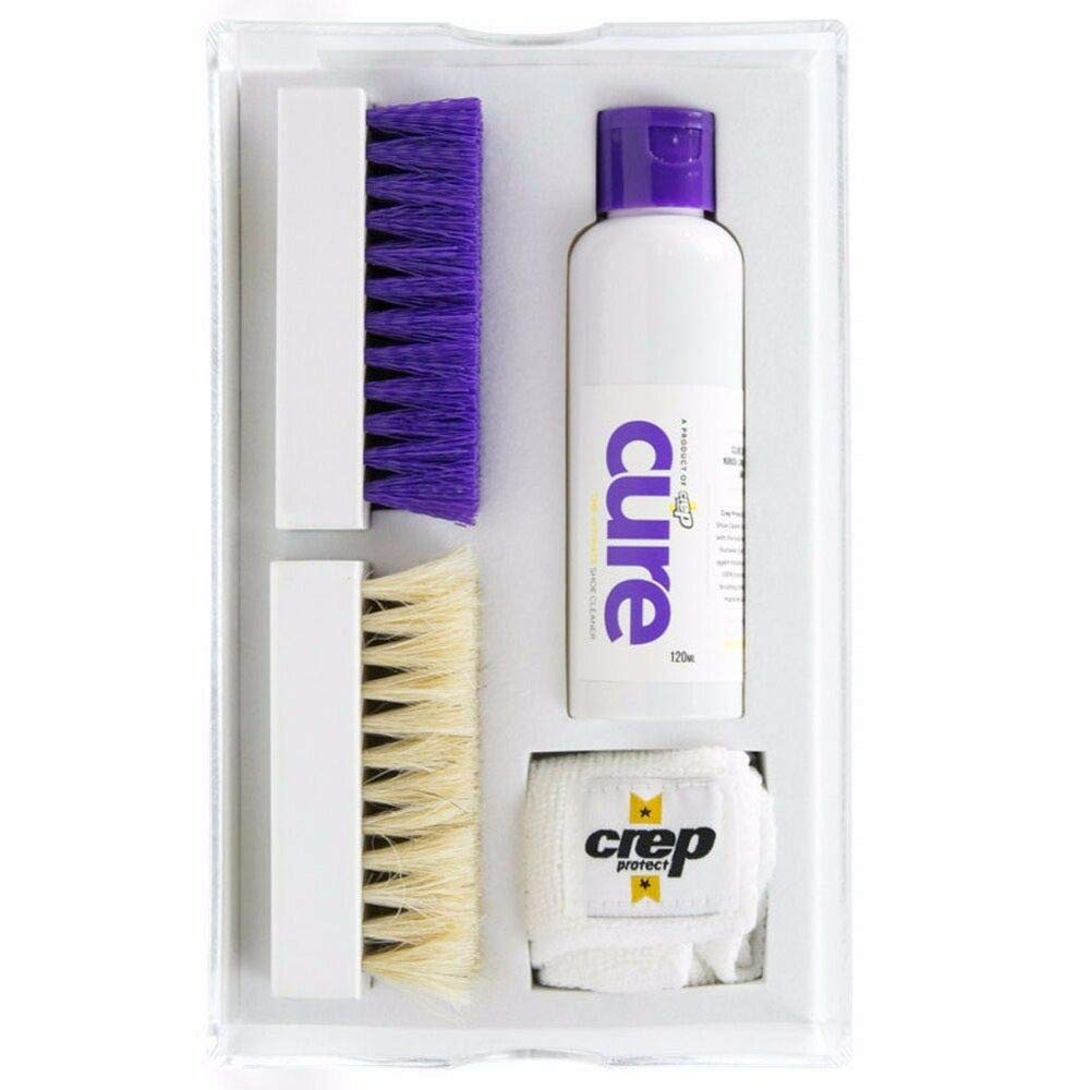 Crep Protect Cure Premium 120ml Shoe Cleaner Kit in Acrylic Shoe Box Fast Ship by quickly store