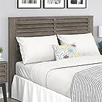 Ameriwood Home Vaughn Full/Queen Headboard, Gray Oak