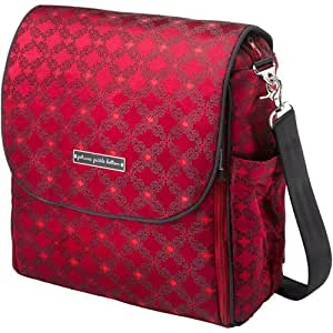 Petunia Pickle Bottom Boxy Backpack in Spiced Crimson Roll