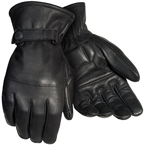 Master Motorcycle Gloves (Tour Master Midweight 2.0 Mens Textile Street Racing Motorcycle Gloves - Black / Large)