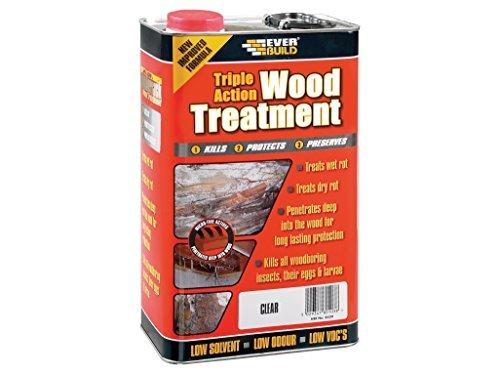 Everbuild LJUN05 5 Litre Lumberjack Triple Action Wood Treatment by Everbuild by Everbuild (Image #1)