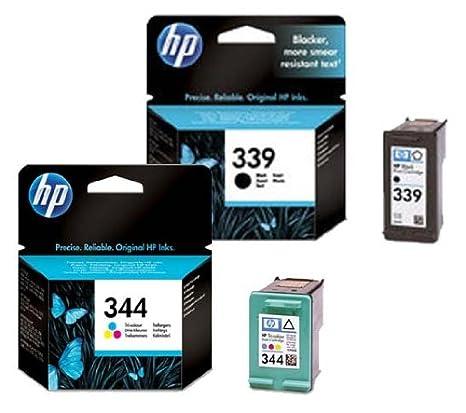 2 Original cartuchos de tinta para impresora para HP DeskJet 9800 ...