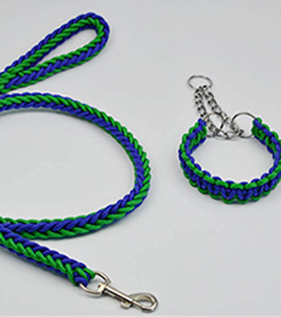 6 Small 6 Small Pet Supplies leashes Handmade Eight Strands of Ropes Dogs Chained Chest Straps Dog Ropes