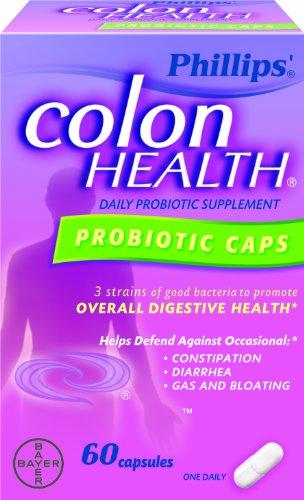 Phillips Colon Health Probiotic Capsules, 60 Count