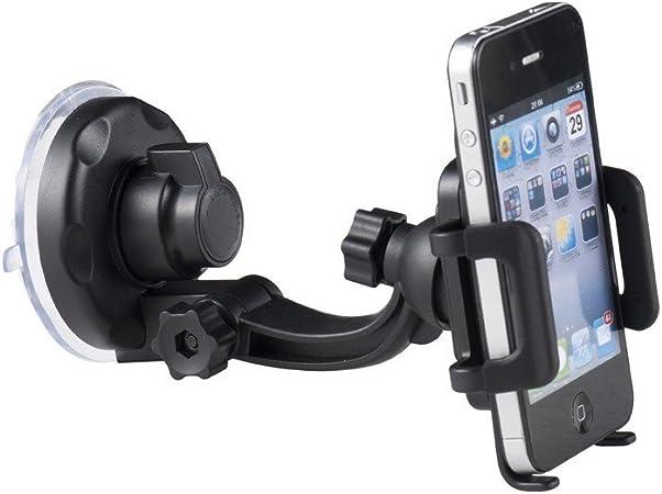 MOXIE Soporte Coche Universal Smartphone Rejilla del Aire/Parabrisas: Amazon.es: Electrónica