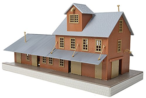(Walthers, Inc. Brick Freight House Kit)