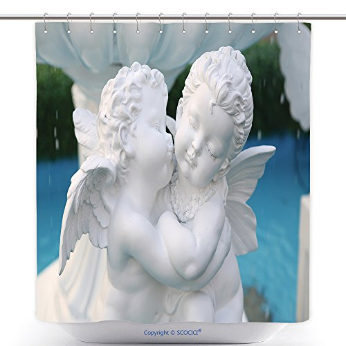 Anti Cupid Costume (Polyester Shower Curtains Statue Of Cupid At Public Fountain In Thailand 130550870 Polyester Bathroom Shower Curtain Set With Hooks)