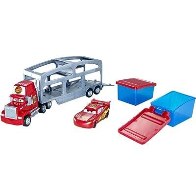 Disney Pixar Cars Mack Dip & Dunk Trailer: Toys & Games