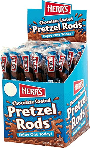 TastyKake Chocolate Coated Pretzel Rods (Chocolate Covered Pretzel Sticks)