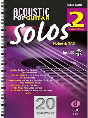 Acoustic Pop Guitar Solos banda 2 Incluye CD 20 - Otras topsongs ...