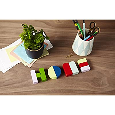 Alpha Shapes (Colorful Wooden Block Letters for Decor, Educational Alphabet Word Blocks): Chronicle Books: Kitchen & Dining