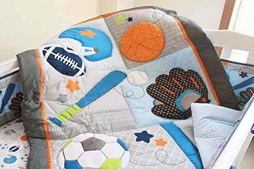 The 8 best sports bedding sets for cribs