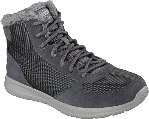 High On Go Women's Fashion The Charcoal Ankle Plush W City Skechers Sneaker 78qw5xSS