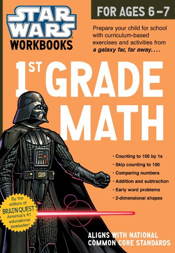 Star Wars Workbook: 1st Grade Math (Star Wars