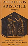 Articles on Aristotle: 1. Science