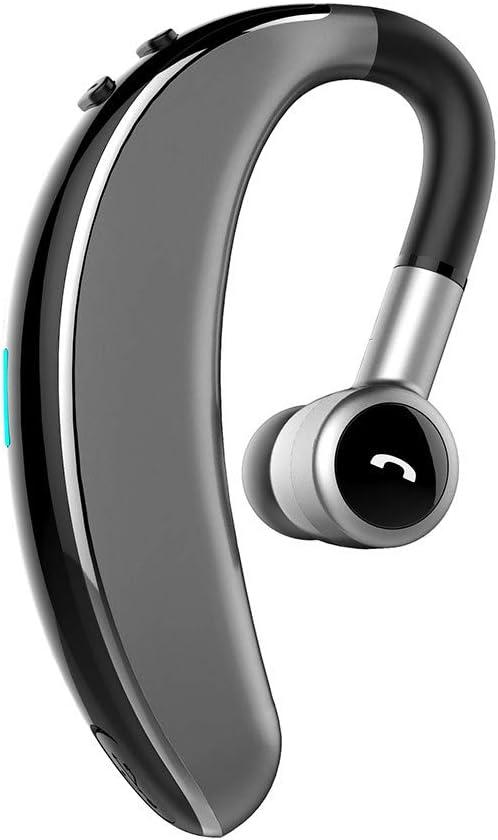 OYSOHE Auricular inalámbrico Bluetooth Auricular estéreo Movimiento Giratorio de Auriculares a 180 Grados Universal de Manos Libres (Plata): Amazon.es: Electrónica