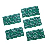 50pcs Top Quality Double Sided Circuit SMD PCB