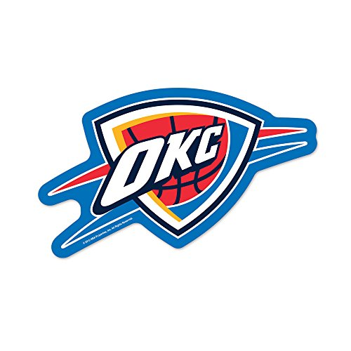 NBA Oklahoma City Thunder Logo on the GoGo Decals, Team Color, One - City Oklahoma Mall Outlet