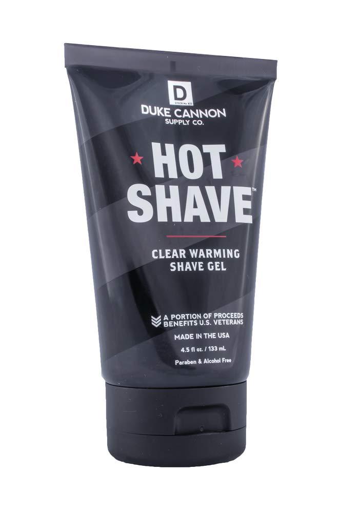 Duke Cannon Hot Shave, 4.5 fl. oz. - Clear Warming Shaving Gel