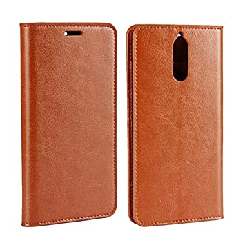 sale retailer 5f98d 7e548 Amazon.com: Weejb- Huawei Mate 9 Pro Leather Case, Luxury Crazy ...