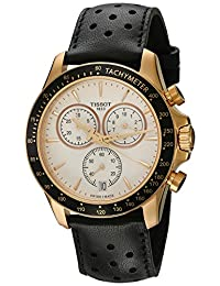 Tissot V8 Chronograph Silver Dial Mens Watch T106.417.36.031.00