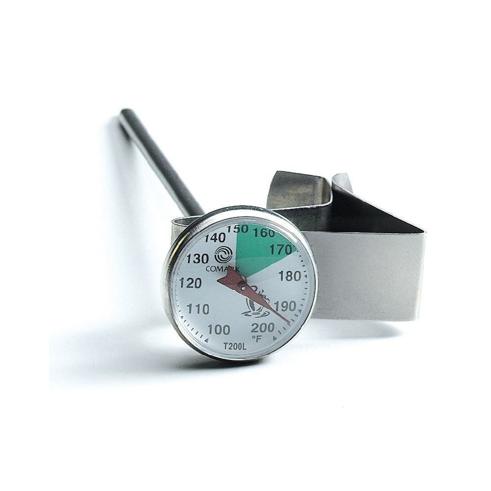 T200L Comark Instruments Dial Coffee Thermometer with Clip