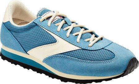Brooks Vanguard Damen Round Toe Synthetik Laufschuh Adria-Blau / Wolkencreme